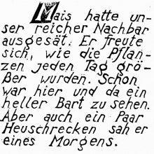 "Wv 198 ""Schriftblatt M"""