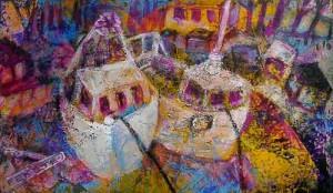(Abb. 1) Eine Malerei in beliebigen Format als Entwurf