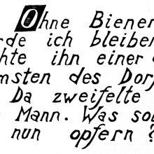 "Wv 204 ""Schriftblatt O"""