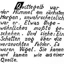 "Wv 210 ""Schriftblatt Q"""