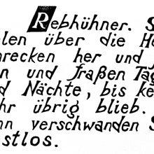 "Wv 213 ""Schriftblatt R"""