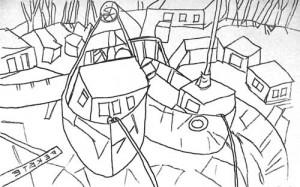 (Abb. 2) Eine Zeichnung vom Entwurf im gewünschten Bildformat