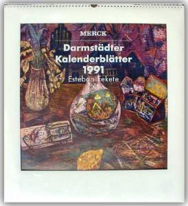 Merck Kalenderblätter 1991