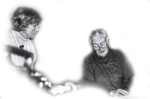Esteban Fekete und Ursula Paschke